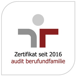 audit berufundfamilie - Zertifikat